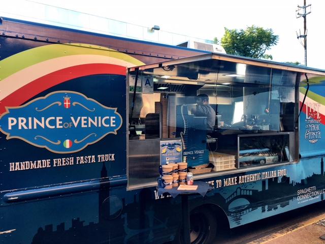 Prince Of Venice Food Truck Menu